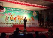 Lễ hội kỷ niệm 40 năm thành lập trường